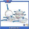 Beautiful Decoration 10 PCS China Style Cookware Set