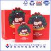 2016 Christmas Cute Printing Paper Shopping Bag /Paper Hang Bag for Gift