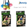 Finger Yo Yo Ball with LED Light Hand Fidget Toy