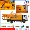 Mobile Truck Mounted Concrete Pump with Js500 Mixer