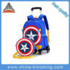 Children Cartoon School Backpack Trolley School Bag with Wheels
