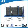 High-Quality Rectangle Trampoline with Enclouse Fitness Equipment