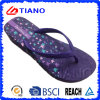 Butterfly Printing EVA Flip Flop for Lady (TNK35710)