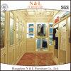 Classical Style Bedroom Furtniure Walk in Closet with Sliding Doors