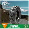 Superhawk Heavy Truck and Bus Tyre with All Ceretification 11.00r20