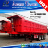 3 Axles Heavy Duty Hydraulic Rear Tipping Semi-Trailers Dumppers