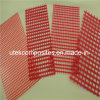 Thickness 2.4mm Red Colored Epoxy Resin Coated Fiberglass Mesh for Transformer