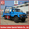 Swing Arm Garbage Truck with 4X2 Dongfeng Chassis