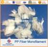 Polypropylene PP Monofilament Fiber for Concrete Reinforcement 6mm 12mm 18mm