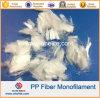 Polypropylene PP Monofilament Fiber for Concrete Reinforcement 6mm 12mm 18mm