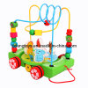Russian Kid Wooden Trailer Animal Around The Bead