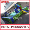 2015 Hot Dual-Use Green Color Inflatable Water Soccer Field for Summer (J-SG-007)