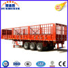 Tandem Bogie Axle Double/Tri Axles Side Wall Stake Semi Trailer