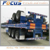 Heavy Duty Flatbed Cargo Trailer/ Shipping Container Trailer
