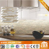 Factory, Strip Marble Stone and Glass Mosaic for Kitchen (M855020)