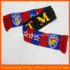 Acrylic Knitting Football Fan Soccer Scarf