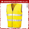 Roadway High Visibility Fluorescent Yellow Safety Vest (ELTHVVI-11)
