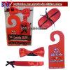 Valentine's Day Gift - Blindfold, Bow Tie, Door Sign & Ribbon (V1016B)