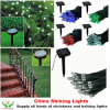 Best Selling Christmas Holiday Solar Panel LED Lights in Varies Colors