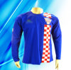 100% Polyester Man′s Long Sleeve Soccer Jersey