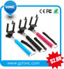 Adjustable Extendable Mobile Camera Wired Monopod Selfie Stick