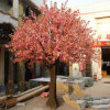 Red Artificial Trees Cherry Blossoms with Delicate Shape