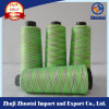 150d/144f Polyester Space Dyed Yarn for Flyknit Shoe Upper