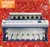 Vsee Better Quality Large Capacity 448 Channels 7chutes ISO Plastic Color Sorter