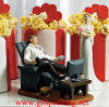 """Couch Potato"" Groom and Bride Wedding Polyresin Craft"