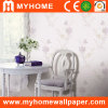 PVC Embossed Wallcovering with Floral