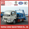 Dongfeng Swing Arm Garbage Truck 4*2 DFAC Refuse Collector