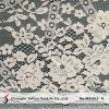 Fancy Flower French Lace Cotton Fabric for Dresses (M3462-G)