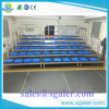 Durable 4 Row Aluminum Bleachers with Guardrail for Indoor and Outdoor Events
