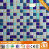Light and Dark Blue Mix Swimming Pool Glass Mosaic (H420103)