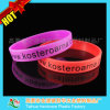 Hot Sales Custom Red Silicone Wristband with Printing Logo