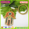 Funny Custom Shape Metal Keychain Middle East Hamsa Keychain #17682