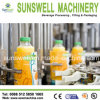 Complete 3-in-1 Full Automatic Beverage Glass Bottle Filling Equipment
