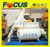 Double-Horizontal-Shaft Forced Concrete Mixer Js500 for Building Constructoin