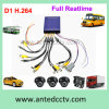 1/2/4 Camera in Car Video Surveillance System for Vehicles Buses Monitoring