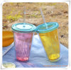 Middle-Sized Straw Cup Straw Bottle for Promotional Gifts (HA09031)