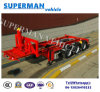 20FT Skeleton Container Dumper Tipper/ Container Tipping Semi Trailer