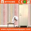 Home Decoration Wood Design Washable Vinyl Wall Paper