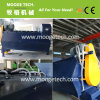 Industrial recycled plastic bottle label separator machine