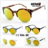 Hot Sale Half Frame Fashion Unisex Sunglasses for Accessory CE, FDA, 100% UV Protection Kp50377