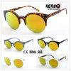 Hot Sale Half Frame Fashion Unisex Sunglasses for Accessory CE, FDA, 100% UV Protection Kp50377