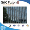 Fashion Design and Classical Curtain Wall with Aluminum & Wood Symbiotic Symtem and Double Glassed
