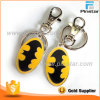 Factory Wholesale Fashion Accessory Hard Enamel Batman Keychain