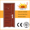 Low Price Metal Iron Door Fancy Design (SC-S054)