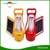 Adjustable Brightness Outdoor Solar Hand Lamp / Portable 35 LEDs Solar Camping Lantern