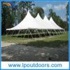 40′ Width Outdoor Steel High Peak Event Marquee Peg Pole Tent